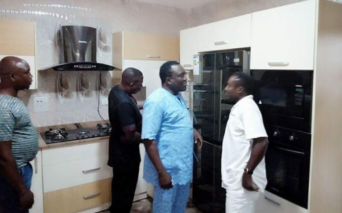 Sunday Igboho Takes Saidi Osupa To His Multi-Million Naira New House (SEE PHOTOS)