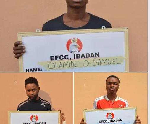 EFCC Arraigns Three for Internet Fraud